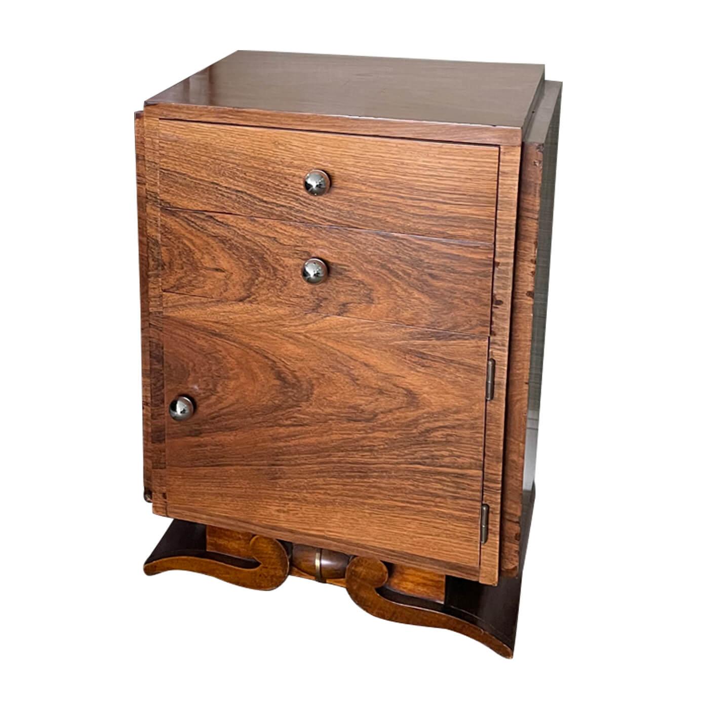 Art Deco Bedside Tables pair